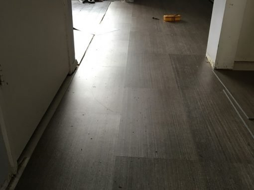 Handyman Work. Laminate Floor Installation