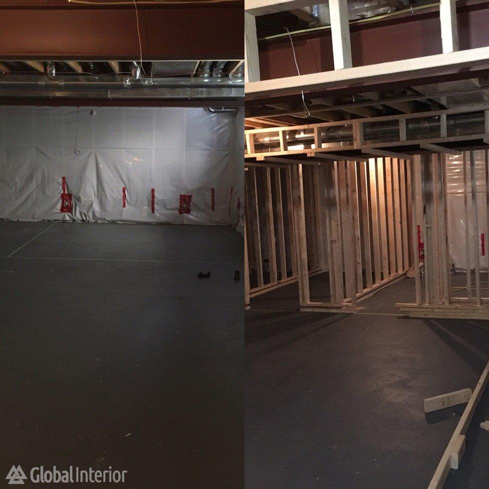 Kitchen Renovation Winnipeg: Basement Renovation Eagle View. Bathroom Renovation