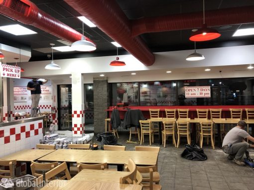Commercial Renovation Five Guys