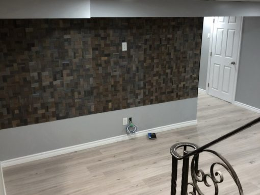 Basement, Bathroom Renovation. Decoration
