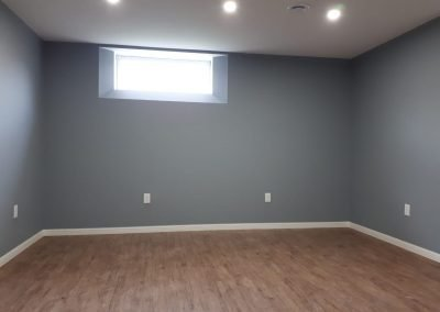 Basement renovation Winnipeg