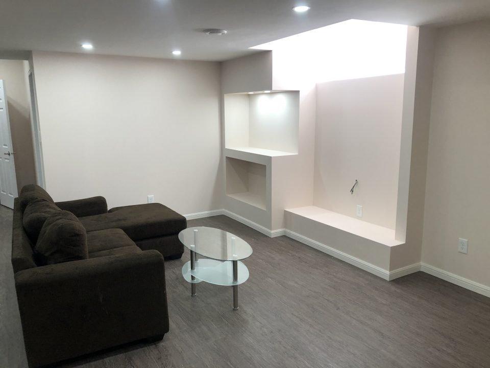 Basement renovation. Winnipeg
